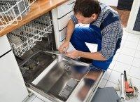 в посудомоечной машине вода холодная