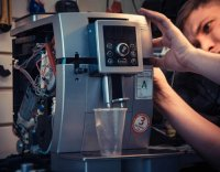 Кофемашина Siemens перестала реагировать, заблокировалась